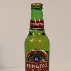 Coleccionismo de cervezas: BOTELLA DE CERVEZA TGINTAO CERVEZA CHINA . Lote 195251908