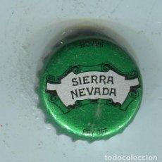 Coleccionismo de cervezas: SIERRA NEVADA TAPON CORONA ,CROWN CAP , BOTTLE CAP, KRONKORKEN ,CAPSULE ,. Lote 195304185