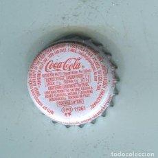 Coleccionismo de cervezas: COCA-COLA TAPON CORONA ,CROWN CAP , BOTTLE CAP, KRONKORKEN ,CAPSULE ,. Lote 195304288