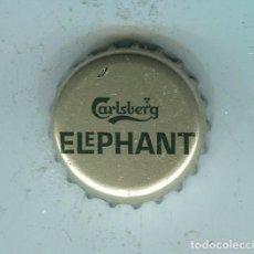 Coleccionismo de cervezas: ELEPHANT TAPON CORONA ,CROWN CAP , BOTTLE CAP, KRONKORKEN ,CAPSULE ,. Lote 195304417