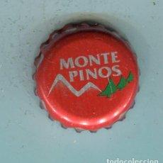 Coleccionismo de cervezas: MONTE PINOS TAPON CORONA ,CROWN CAP , BOTTLE CAP, KRONKORKEN ,CAPSULE ,. Lote 195304596