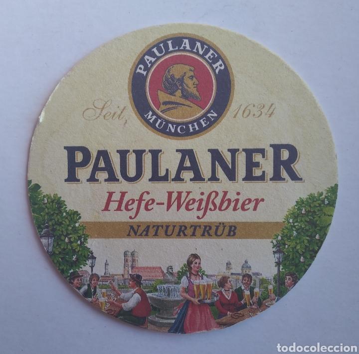 POSAVASOS CERVEZA PAULANER (Coleccionismo - Botellas y Bebidas - Cerveza )