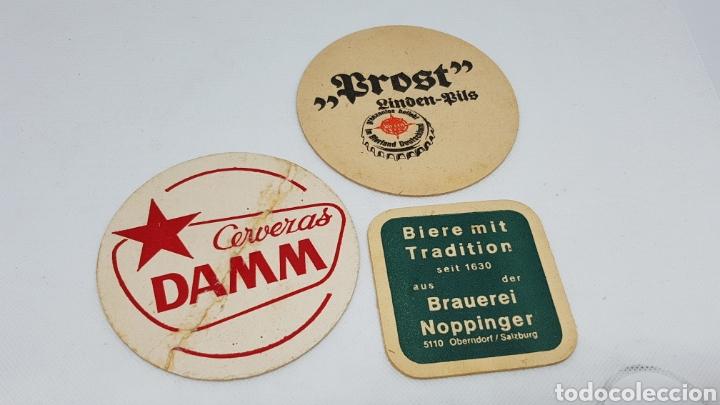 Coleccionismo de cervezas: LOTE POSAVASOS AÑOS 80 CERVEZAS EL AGUILA AMSTEL SKOL FLORIDA ESTRELLA DORADA Y MAS - Foto 4 - 195385578