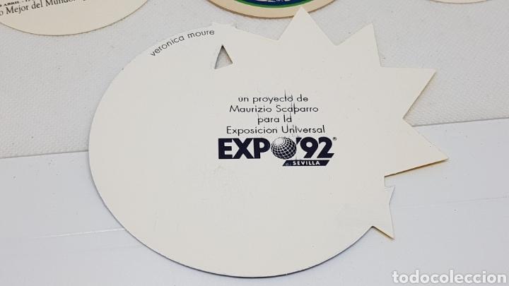 Coleccionismo de cervezas: LOTE POSAVASOS AÑOS 80 Y 90 CORTE INGLES EXPO 92 MUNDIAL ESPAÑA 82 GALERIAS PRECIADOS XACOBEO CURRO - Foto 2 - 195386202