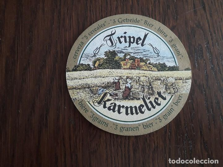 POSAVASOS DE CERVEZA TRIPEL KARMELIET (Coleccionismo - Botellas y Bebidas - Cerveza )