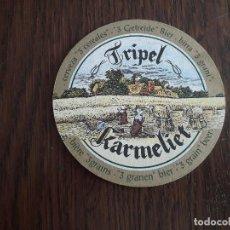 Coleccionismo de cervezas: POSAVASOS DE CERVEZA TRIPEL KARMELIET. Lote 195391926