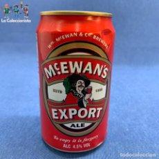 Coleccionismo de cervezas: LATA DE CERVEZA MCEWANS - EXPORT - ALE - BEER - 330 ML - INGLATERRA - VACÍA. Lote 195409052