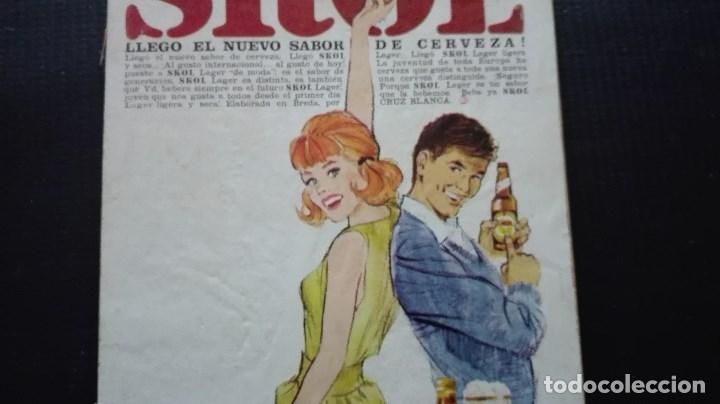 Coleccionismo de cervezas: ANUNCIO CERVEZA SKOL - Foto 3 - 195745395