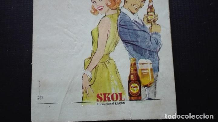 Coleccionismo de cervezas: ANUNCIO CERVEZA SKOL - Foto 4 - 195745395