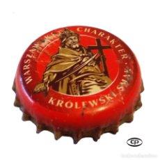 Colecionismo de cervejas: TAPÓN CORONA POLONIA (PL)--CHAPA CERVEZA WARKA. Lote 194944882