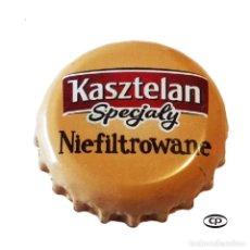 Colecionismo de cervejas: TAPÓN CORONA POLONIA (PL)--CHAPA CERVEZA KASZTELAN. Lote 196092486