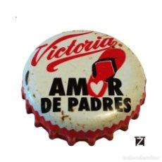 Colecionismo de cervejas: TAPÓN CORONA MÉXICO (MX)--CHAPA CERVEZA MODELO VICTORIA (PRETEXTOS PARA LLEVAR). (2 IMAGENES). Lote 197164732