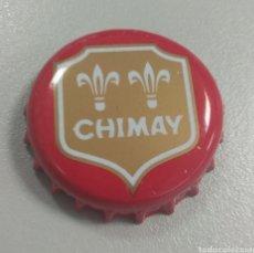 Coleccionismo de cervezas: CERVEZA TRAPENSE CHIMAY ROJA. Lote 198416813