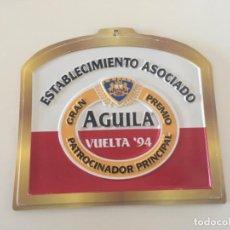 Coleccionismo de cervezas: CARTEL PUBLICIDAD CERVEZA AGUILA VUELTA CICLISTA 94 ... ZKR. Lote 198626086