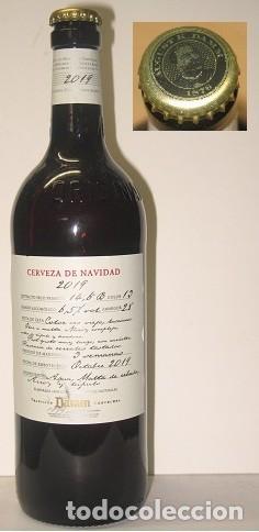 BOTELLA CERVEZA DE NAVIDAD 2019 DAMM (Coleccionismo - Botellas y Bebidas - Cerveza )