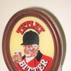 Coleccionismo de cervezas: EMBELLECEDOR TIRADOR TETLEY BITTER. Lote 198690208
