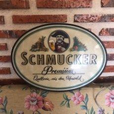 Coleccionismo de cervezas: CARTEL LUMINOSO DE CERVEZAS SCHMUCKER. Lote 199079026