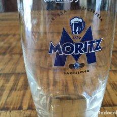 Collectionnisme de bières: MORITZ - VASO BARRILITO 20 CL - 8 1/4 - CERVEZA BARCELONA - . Lote 200801907