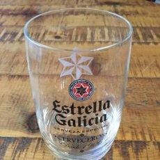 Collectionnisme de bières: ESTRELLA GALICIA - VASO 0,25 CL - CERVEZA GALICIA. Lote 200810146