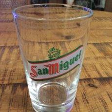 Collectionnisme de bières: SAN MIGUEL - VASO 20 CL - CERVEZA LLEIDA. Lote 200854547