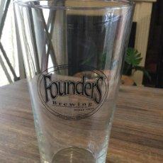 Coleccionismo de cervezas: FOUNDERS BREWING - VASO 47 CL - CERVEZA ARTESANAL E.E.U.U. Lote 254104860