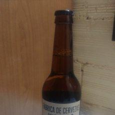 Coleccionismo de cervezas: BOTELLA LLENA ESTRELLA GALICIA MIEL. Lote 201734672