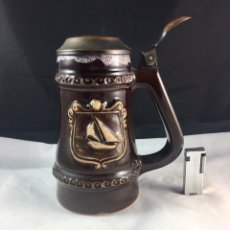 Coleccionismo de cervezas: JARRA DE CERVEZA POLACA. Lote 84651931