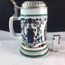 Coleccionismo de cervezas: JARRA DE CERVEZA ALEMANA. Lote 84836000
