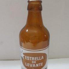 Coleccionismo de cervezas: BOTELLA CERVEZA ESTRELLA LEVANTE 33 CL ESPINARDO. Lote 273948593
