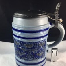 Coleccionismo de cervezas: JARRA DE CERVEZA ALEMANA-GRAN TAMAÑO!!!!. Lote 87367540