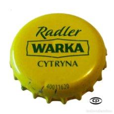 Colecionismo de cervejas: TAPÓN CORONA POLONIA (PL)--CHAPA CERVEZA WARKA. Lote 201952611