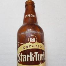 Coleccionismo de cervezas: BOTELLA ANTIGUA DE CERVEZA STARK TURIA ESPECIAL VALECIA. Lote 201957627