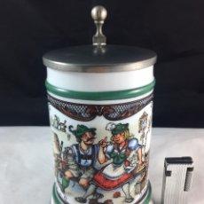 Coleccionismo de cervezas: JARRA DE CERVEZA ALEMANA. Lote 86308046