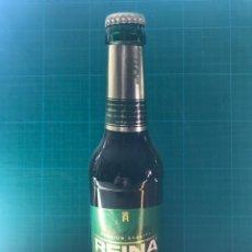 Coleccionismo de cervezas: BOTELLA CERVEZA REINA ORO, 33CL. CANARIAS - LLENA - CADUCIDAD 15/SEP/09. Lote 202393248