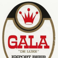 Coleccionismo de cervezas: ANTIGUA ETIQUETA DE CHAD - AFRICA. Lote 202740995