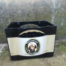 Coleccionismo de cervezas: CAJA CERVEZA FRANZISKANER 20 BOTELLAS DE 0,5 LITROS WEISSBIER. Lote 202974323