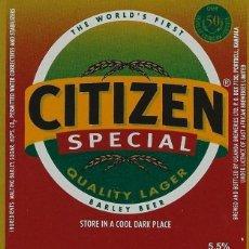 Coleccionismo de cervezas: ETIQUETA DE UGANDA, AFRICA. Lote 203568342