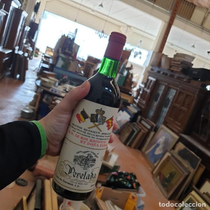 Coleccionismo de cervezas: GRAN RESERVA PERELADA CONMEMORACIÓN BODA BALDUINO Y FABIOLA DE BELGICA - Foto 2 - 204480421