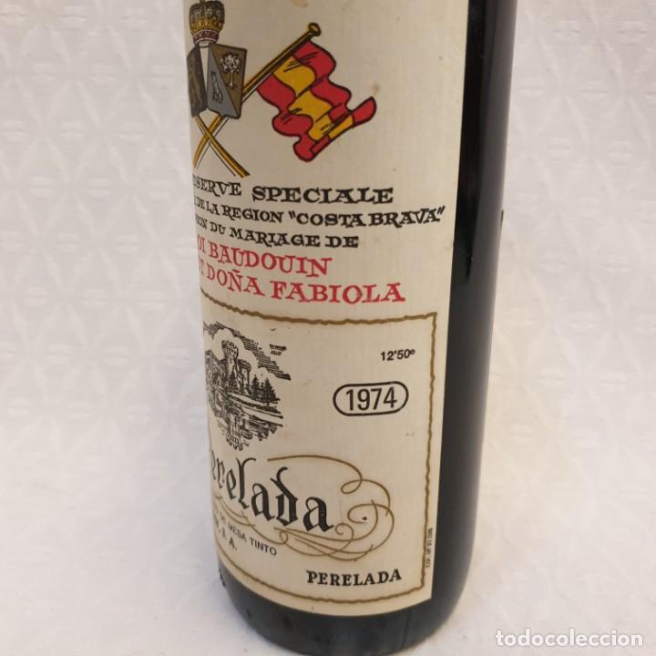 Coleccionismo de cervezas: GRAN RESERVA PERELADA CONMEMORACIÓN BODA BALDUINO Y FABIOLA DE BELGICA - Foto 4 - 204480421