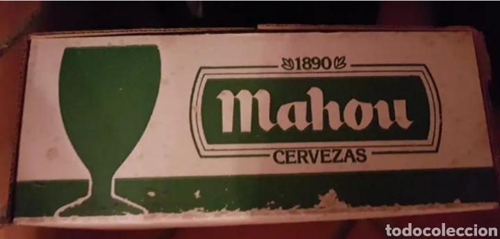Coleccionismo de cervezas: Vasos de cerveza Mahou - Foto 2 - 205753345