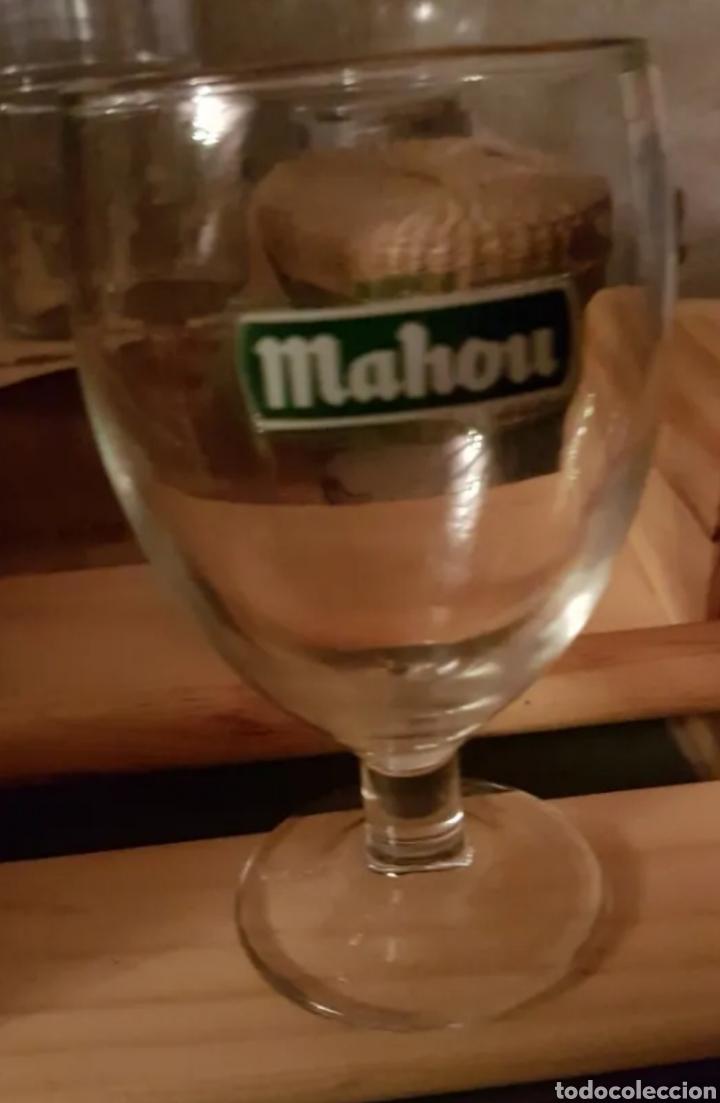 VASOS DE CERVEZA MAHOU (Coleccionismo - Botellas y Bebidas - Cerveza )
