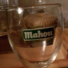 Coleccionismo de cervezas: VASOS DE CERVEZA MAHOU. Lote 205753345