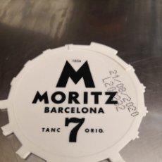 Coleccionismo de cervezas: TAPA BARRIL CERVEZA MORITZ 7.. Lote 205803017