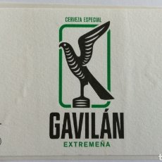 Coleccionismo de cervezas: ETIQUETA CERVEZA RECICLADA. Lote 205859512