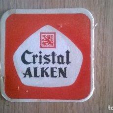 Coleccionismo de cervezas: POSAVASO CERVEZA CRISTAL. Lote 205862493
