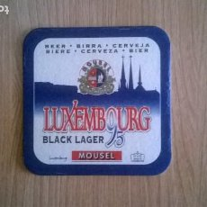 Coleccionismo de cervezas: POSAVASO CERVEZA MOUSEL. Lote 205864598
