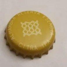 Coleccionismo de cervezas: CHAPA, TAPON CORONA CERVEZA ALHAMBRA ESENCIA CITRA IPA. Lote 205864630