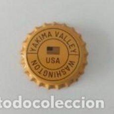 Coleccionismo de cervezas: CHAPA NUEVA CERVEZA SANMIGUEL YAKIMA VALLEY - ESPAÑA AÑO 2020. Lote 205866166
