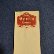 Coleccionismo de cervezas: LIBRETA CAMARERO DAMM. Lote 205872576