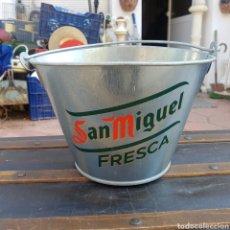 Coleccionismo de cervezas: CUBO ENFRIADOR DE CERVEZA SAN MIGUEL. Lote 206199136